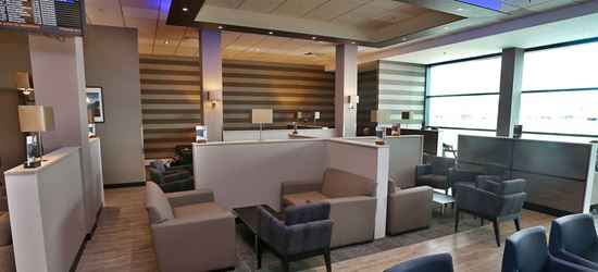Seating Area in the Aspire Lounge at Belfast City Airport