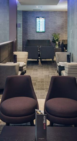 Bristol Airport AspirePlus Lounge Seating Area