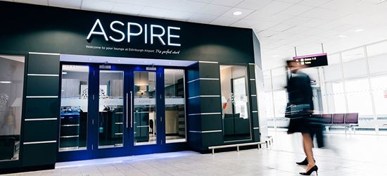 The Aspire Airport Lounge in Edinburgh Airport