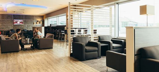 The Seating Area at the Aspire Airport Lounge in Edinburgh Airport