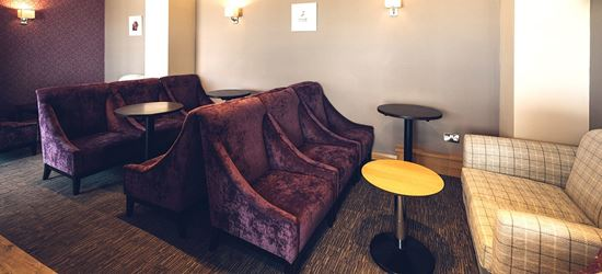 The Seating Area of the Aspire Airport Lounge in Inverness Airport