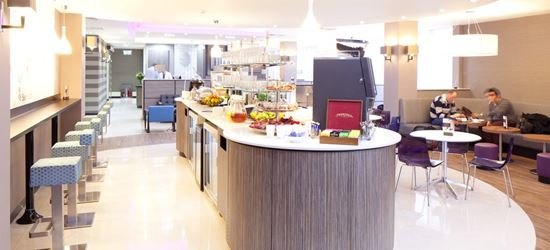 Breakfast bar at Club Aspire Lounge Gatwick Airport North Terminal