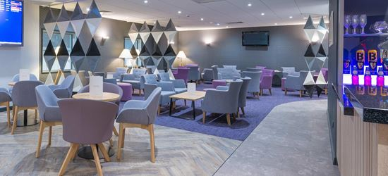 Seating Area of the Aspire Airport Lounge in Manchester Airport Terminal 2
