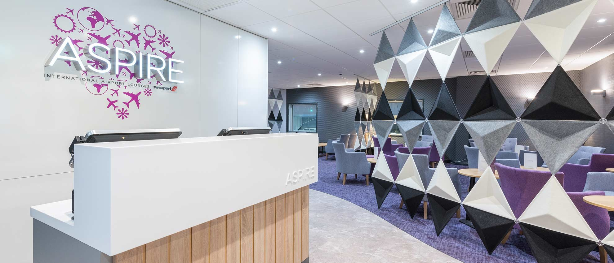 Aspire Lounge at Manchester Airport Terminal 2 | Executive Lounges