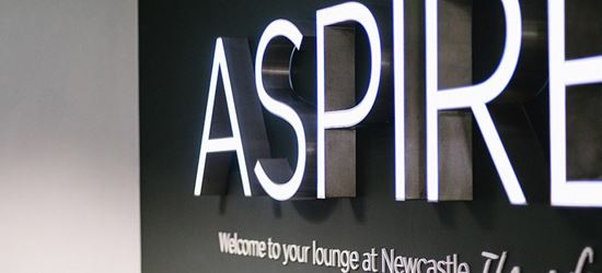 The Aspire Airport Lounge at Newcastle Airport