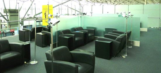 The Seating Area of the Airport Lounge in Cologne Bonn Airport
