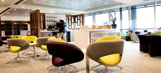 Seating Area of the DAA Executive Lounge in Dublin Airport