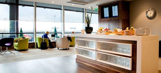 Food and Drink in the DAA Executive Lounge in Dublin Airport