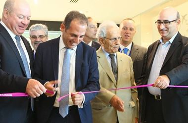 The opening of the Aspire Aphrodite Lounge at Larnaca Airport