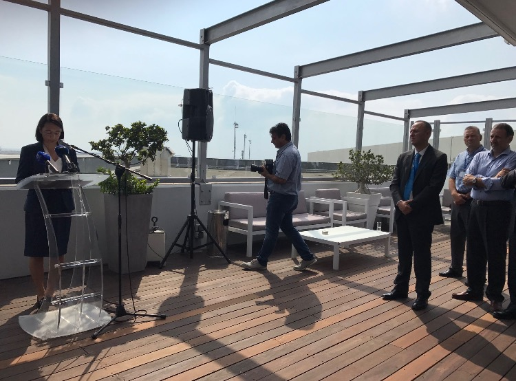 Press Conference held at the Aspire Aphrodite Lounge at Larnaca Airport