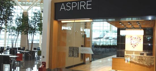 The Transborder Aspire Airport Lounge at Calgary Airport