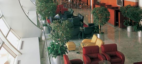 The Business Class Lounge at Dubai International Airport