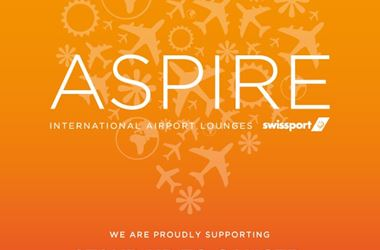 Aspire Airport Lounge are supporting Stand Up To Cancer
