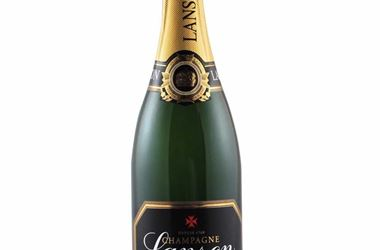 Lanson Champagne Bottle