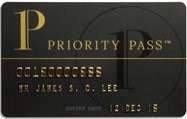 Priority Pass Card