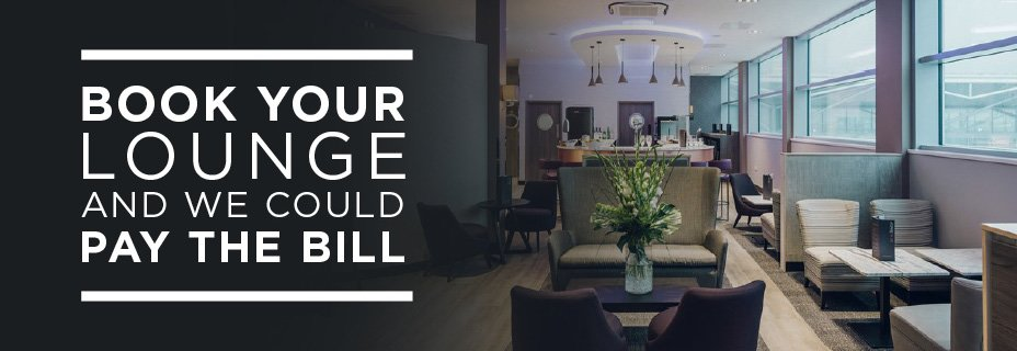 Book your lounge and we could pay the bill - competition