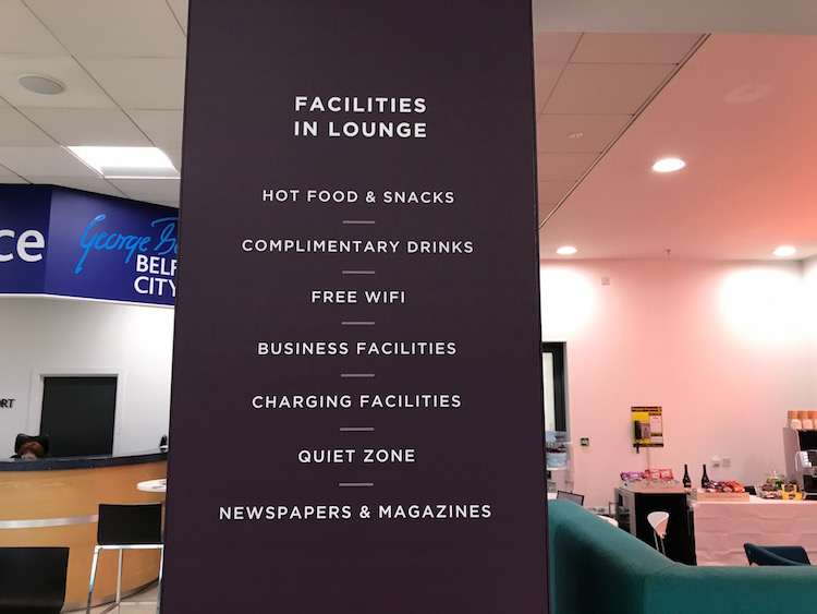 List of lounge facilities
