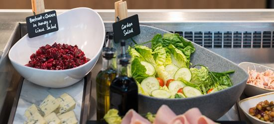 Cork Aspire Lounge Chilled Foods including Salad