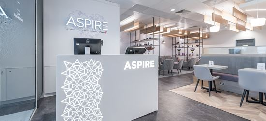 The Aspire Airport Lounge at Liverpool John Lennon Airport