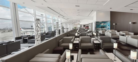 The Swissport Airport Lounge at Montreal Airport