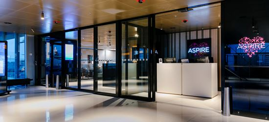 The Entrance To The Amsterdam Schiphol Airport Aspire Lounge