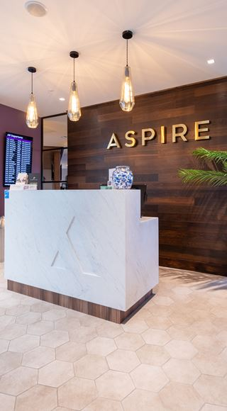 Visit the newest Aspire Lounge at Edinburgh Airport
