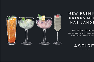 New Cocktails at Liverpool Aspire Lounge
