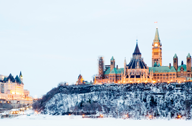 Parliament Hill in Ottawa Canada