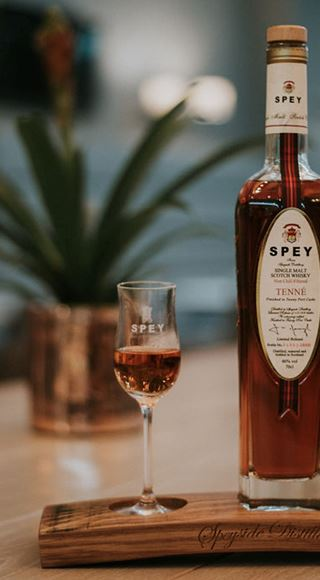 Spey Whiskey at Club Aspire Airport Lounge in London Heathrow Airport Terminal 3