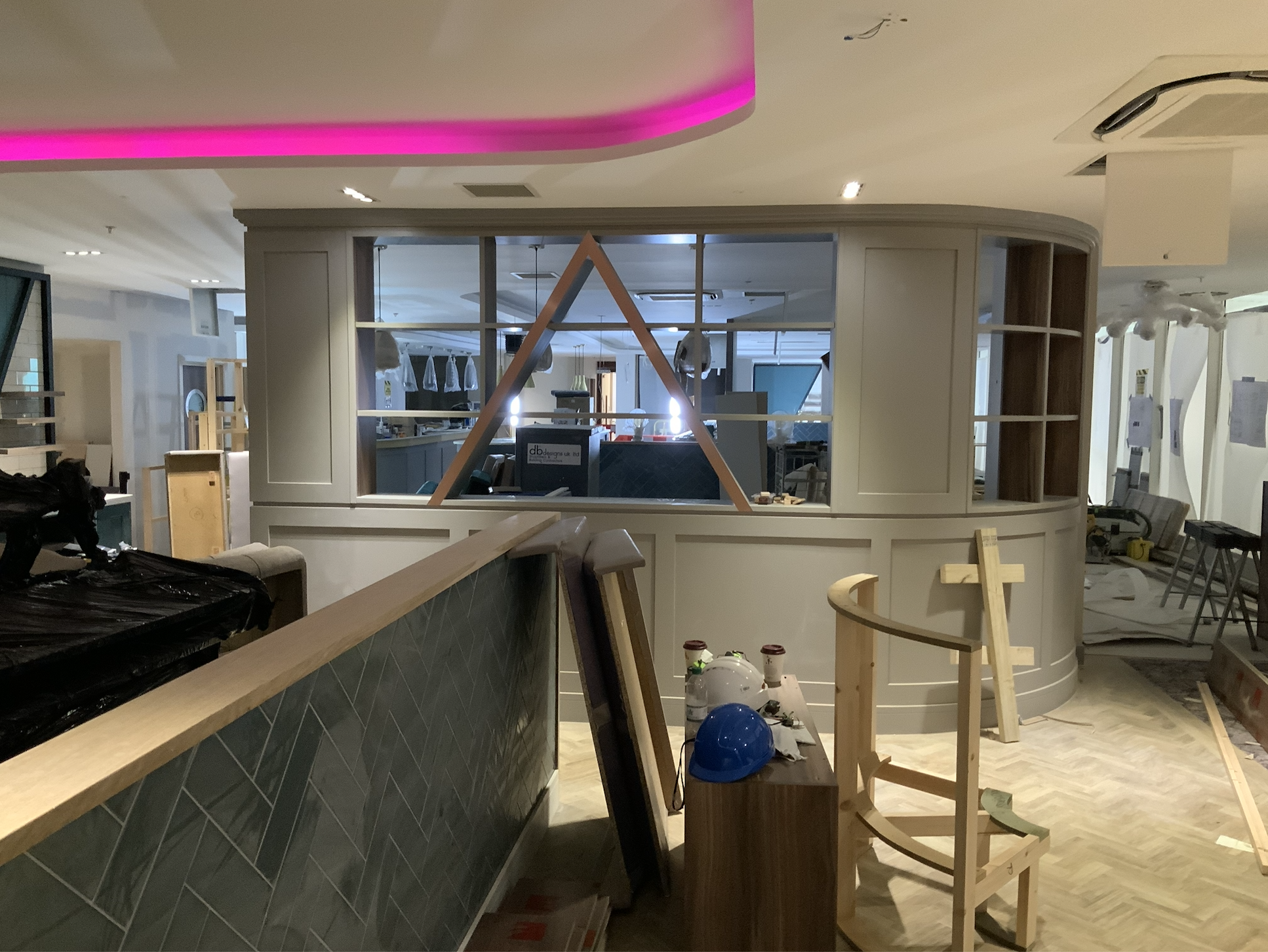 Building Progress at Aspire Lounge London Luton Airport