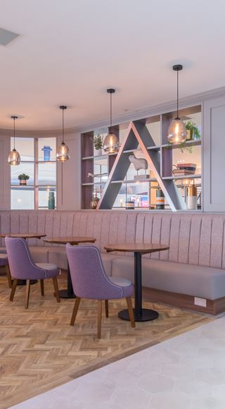 Aspire Luton Lounge Refurbishment