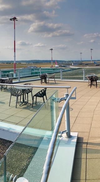 Runway View Skyview Lounge Basel
